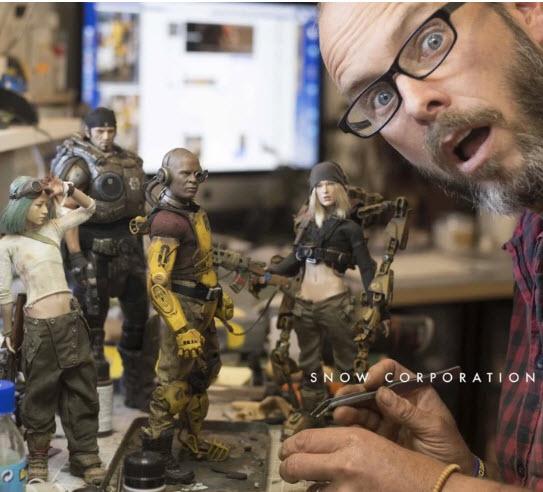 """Une des meilleures compagnies pour faire des figurines 12 pouces """"customs"""""""