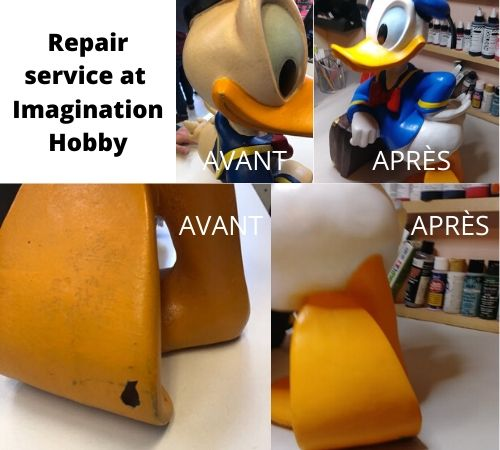 Repair statue service