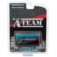 The A-Team BA 1983 GMC Vandura 1:64 édition limitée Série 19 Greenlight Hollywood 44690-B