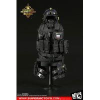 Russian Spetsnaz FSB Alfa Group 3_0 accessoires NOIR 1:6 Super MC Toys M-069A