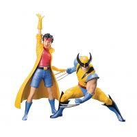 Marvel Universe X-Men 1992 Wolverine & Jubilee 2-pack 1:10 Artfx Kotobukiya