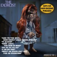 The Exorcist Talking Regan 15-inch Mezco Toyz