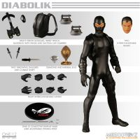 One-12 Collective Diabolik Mezco Toyz