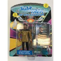 Star Trek The Next Generation Lt Commander Geordi La Forge in dress uniforme Playmates Toys 602690