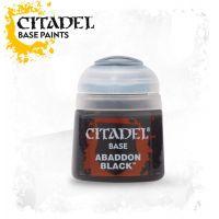 Peinture Abaddon Black Games-Workshop (21-25)