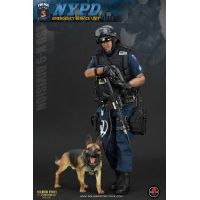 NYPD ESU K-9 DIVISION figurine 1:6 Soldier Story SS101NYPD ESU K-9 DIVISION figurine 1:6 Soldier Story SS101
