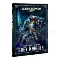 Warhammer 40K Codex Grey Knights ENGLISH VERSION Games-Workshop (57-01-60)
