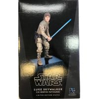 Star Wars Luke Skywalker (Bespin Fatigues) Statue Gentle Giant (Opened Product & Displayed)