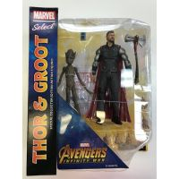 Marvel Select Avengers Infinity War Thor & Groot