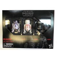 Star Wars The Black Series 6-inch - Red Squadron (R2-D2, R5-D8, R2-X2) 3-pack Hasbro