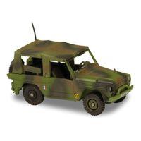 Solido 151012 Voiture Peugeot P4 Armée française OTAN