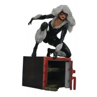 Marvel Gallery Black Cat Comic PVC Diorama 9-inch