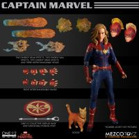 One-12 Collective Marvel Captain Marvel Mezco Toyz