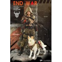 Doomsday End War Death Squad U Umir et chien figurines 1:6 Flagset 73022