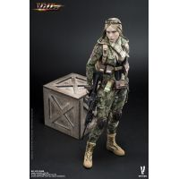 Villa Sister Jungle Python Stripe figurine 1:6 Very Cool Models VCF-2035B
