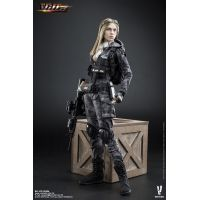 Villa Sister Police Black Python Stripe figurine 1:6 Very Cool Models VCF-2035A
