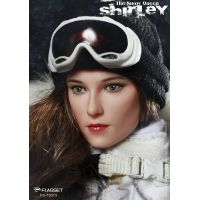 Snow Queen Shirley figurine 1:6 Flagset FS-73013