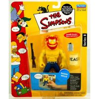 Simpsons Série 8 Ragin' Willie figurine Playmates 199245