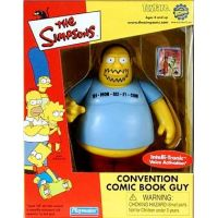 Simpsons Convention Comic Book Guy figurine Playmates