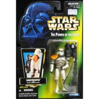 Star Wars Power of the Force - Sandtrooper with heavy blaster rifle Hasbro