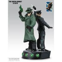 The Green Hornet & Kato Statue 1:8 Electric Tiki Design