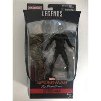 Marvel Legends Spider-Man Molten Man BAF Series - Spider-Man (Black Suit) (Far From Home Movie)