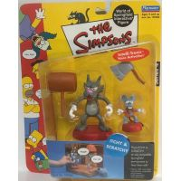 Simpsons Série 4 Itchy & Scratchy figure Playmates 199204