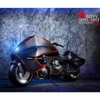 Moto NOIRE Judge Dreed 1/6 Special Figures SF-003
