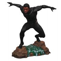 Marvel Gallery Black Panther Movie Black Panther Unmasked PVC Diorama 9-inch