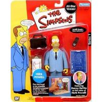 Simpsons Série 1 Herb Powell figurine Playmates Toys 142042