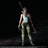 Tomb Raider Play Arts Kai Lara Croft 8 inches
