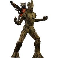 Rocket and Groot Guardians of the Galaxy