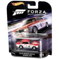 Forza Motorsport Alfa Romeo Giulia Sprint GTA 3/5 Hot Wheels DJF51-L718