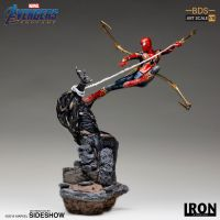 Iron Spider VS Outrider Statue 1:10 Iron Studios 904782