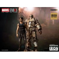​​Iron Man Mark I and Tony Stark Statue by Iron Studios Marvel Studios: The First 10 Years - Art Scale 1:10 903652