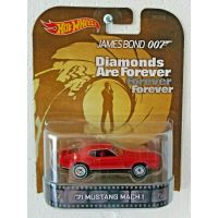 James Bond Diamonds are forever '71 Mustang MACH 1 Hot Wheels BDV01-0719