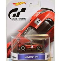 Gran Turismo Corvette C7R 2/5 Hot Wheels DJF44-L718