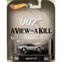 James Bond A View to a Kill Corvette Hot Wheels CFR21-D718