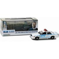 Blue Bloods Ford Crown Victoria 2001 Police Interceptor 1:43 Greenlight 86519