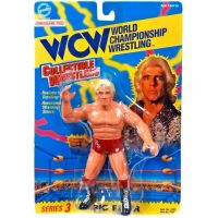 WCW Série 3 Ric Flair (short rouge) figurine Toymakers 8103