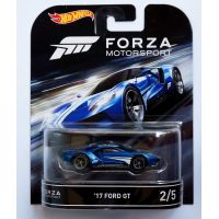 Forza Motorsport '17 Ford GT 2/5 Hot Wheels DJF50-L718