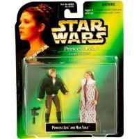 Star Wars Princess Leia and Han Solo Hasbro