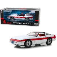 The A-Team 1984 Chevrolet Corvette C4 1:18 Greenlight 13532