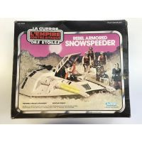 Star Wars Empire Strikes Back Kenner Vintage 1980 Rebel Armored Snowspeeder Complete Canadian Box (Sold in Store Only, Sale is Final)