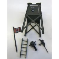 GI Joe 1984 Watch Tower (Used, Complete) Sell is Final Sold in Store Only