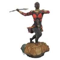 ​Marvel Gallery Black Panther Movie Okoye PVC Diorama 9-inch