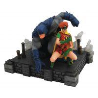 DC Gallery The Dark Knight Returns - Batman & Robin PVC Diorama 9-inch