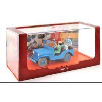 Tintin Objectif Lune Jeep CJ 2a 1:43