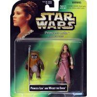 Star Wars Princess Leia et Wicket l'Ewok Hasbro