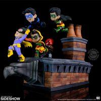 Batman Family Knight Out Q-Master Diorama Quantum Mechanix Inc 905087